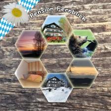 Ansicht Pension Pension Fernblick - Urlaub mit Herz im bayerischen Wald