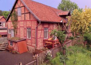 Harz – Erholung im Nationalparkort Ilsenburg – Ferienhaus im Garten