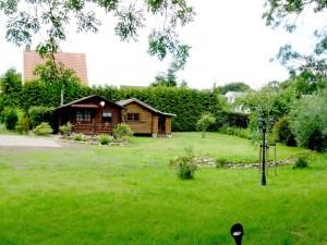 Holzblockhaus Naturidyll auf 1600 qm eingezäuntem Grundstück
