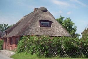Moordeichhaus auf Nordstrand - Auszeit unter Reet