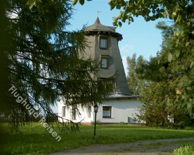 Mühle in Alleinlage mit eingez. Garten auf Rügen für Urlaub mit dem Hund