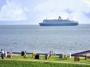 Ferienwohnung Elbschiffer in Cuxhaven mit Meerblick 5.Stock