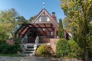 """Ferienhaus """"Püük Huus"""" in Bünsdorf am Ufer des Wittensees"""