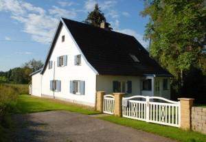 Ferienhaus Allgäuperle, Perle in malerischer Landschaft des Allgäus.