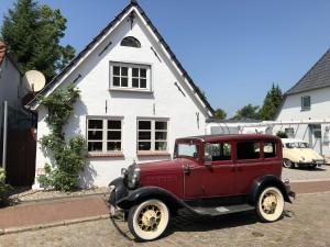 Hus Everschop - Friesenfinca im alten Ortskern von Tetenbüll - nahe SPO