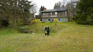 Ferienhaus Sam, Schwäbische Alb, Hunde willkommen, 1200qm Garten