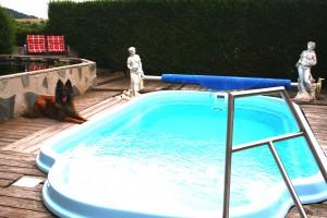 Ferienhaus Gabriela mit eingezäunten Garten und privatem Swimmingpool