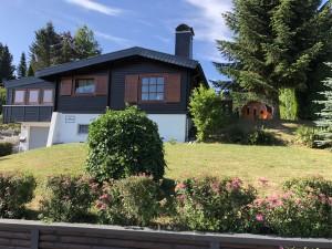5***** Holzblockhaus Talblick im Harz, komplett neu gestaltet