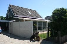 FH Sheltiehouse mit eingezäunten Garten + strandnah! Hunde willkommen