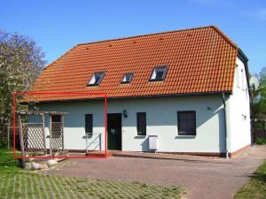 Landhaus am Teich - Ferienwohnung rot - Saaler Bodden - Ostsee