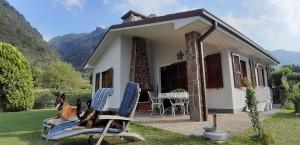 I17p Haus Oskar direkt am Idrosee gelegen mit eigenem Garten