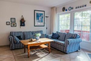 Ferienwohnung Strandperle für 6 Pers. mit Balkon, strandnah