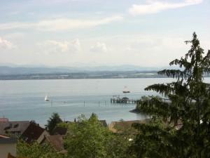 Ferienwohnung Fam. Müller - mit wunderschönem See- und Alpenblick -
